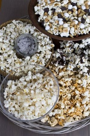 Food-American Table-Popcorn