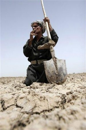 Drought threatens Iraq's crops and water supply