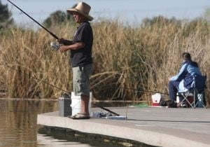 Lake could become catch-and-release fishing spot