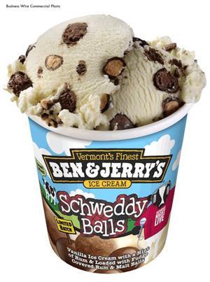 Ben & Jerry's Schweddy Balls