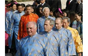 Bush asks China for aid with North Korea