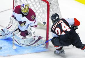 Power plays in overtime cost Coyotes vs. Flyers