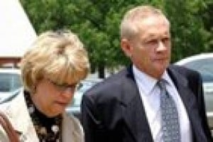 Ex-judge convicted of indecent exposure 