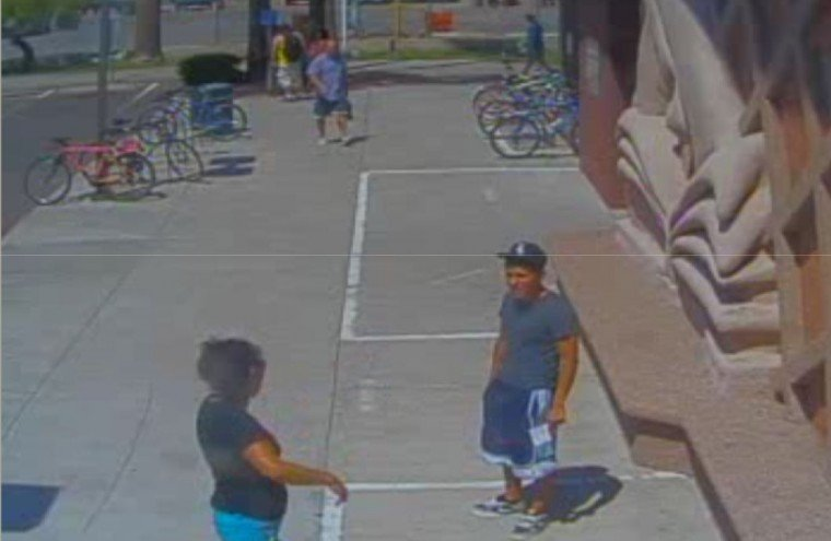 Suspect in kidnapping at Mesa library