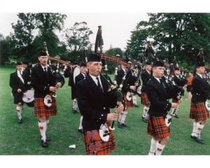 The Pipes and Drums of the Black Watch 3rd Battalion