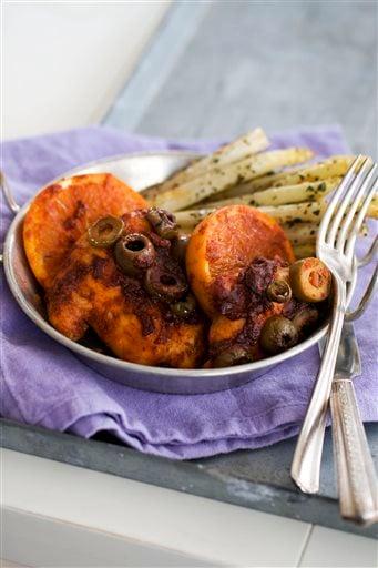 Food-Deadline-Honey-Paprika Chicken