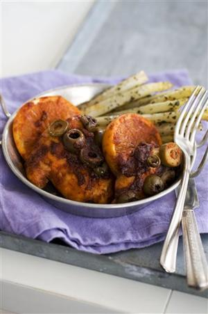 Food-Deadline-Honey-Paprika Chicken