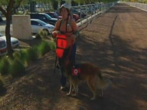 Volunteers, cadaver dogs search for missing ASU student