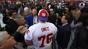 Q&A with Giants offensive lineman Chris Snee