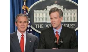 Bush taps Fox's Snow as new press secretary