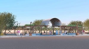 Mesa artist's work to adorn transit center