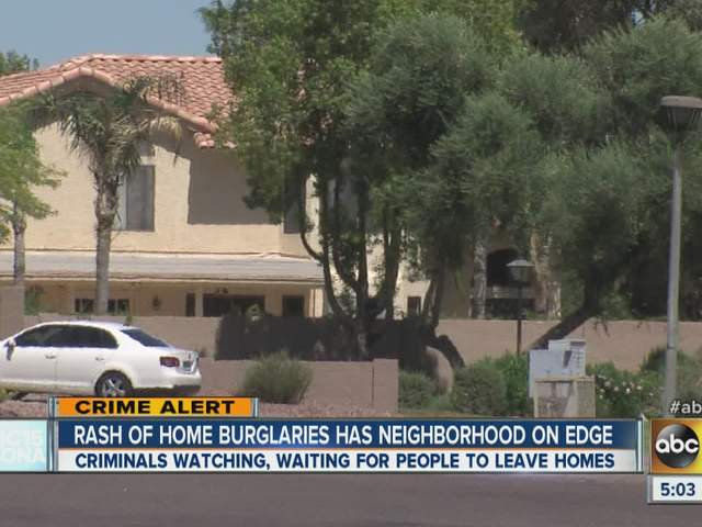 Tempe/Chandler burglaries