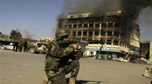 Taliban attacks paralyze Afghan capital for hours