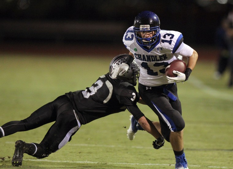 No. 3 Centennial (Div. II) at No. 4 Chandler (Div. I)