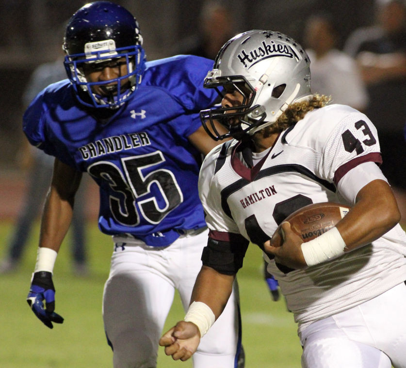 No. 3 Hamilton vs. No. 2 Chandler (Div. I)