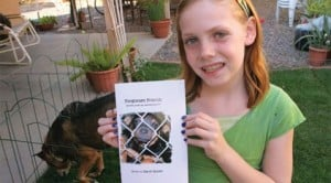 Student's book highlights canine homelessness