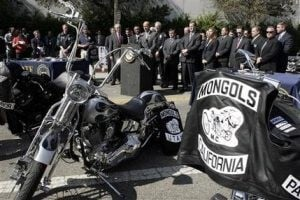 Mongols motorcycle gang arrested in federal sweep