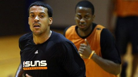 Suns move training camp to San Diego