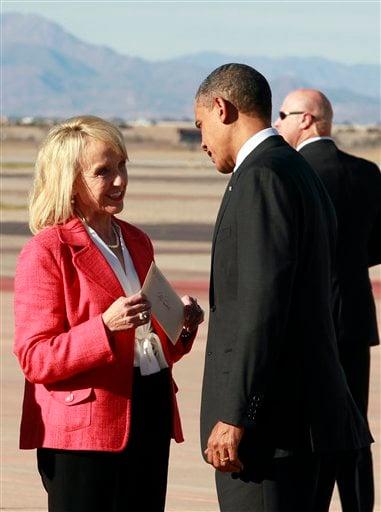 Barack Obama, Jan Brewer