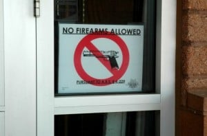 Guns allowed in some Arizona bars this week