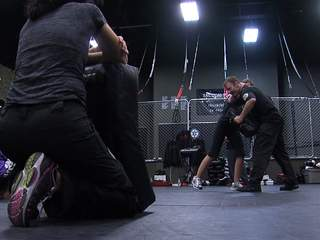 REACT Defense Systems self-defense class