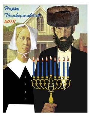 Thanksgiving Hanukkah