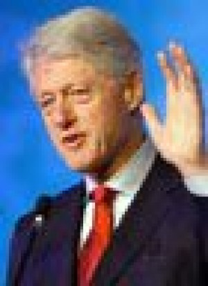 Former President Clinton out of surgery