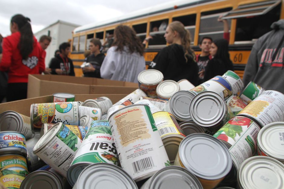 Williams Field Food Drive