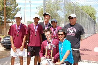 Hamilton boys tennis