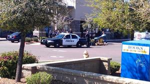 Police Situation at Chase Bank in Gilbert