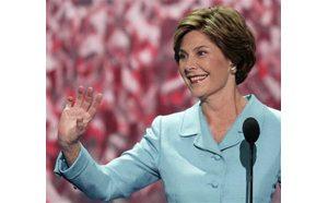 First lady hails Bush anti-terror record