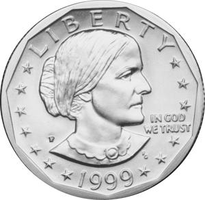 Susan B. Anthony dollar