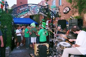 E.V. pubs, restaurants turn on the green for St. Patrick's Day