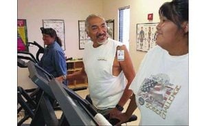 Research among Gila River Indians shows getting active  not losing weight  can control the scourge of a community 