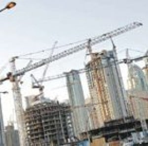 Dubai, the city of cranes