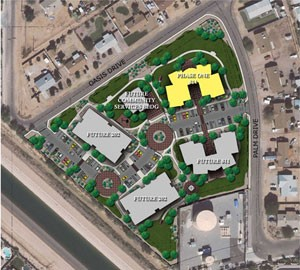 Marc Center site map