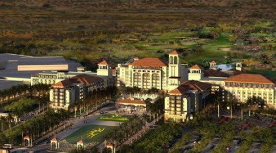 Proposed Gaylord Mesa resort