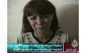 Video: Abducted aid worker pleads for life