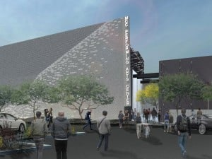 Rendering of MCC Performing Arts Center