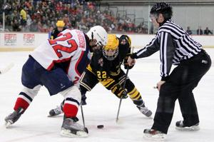 <p>The Arizona State hockey team is moving up to Division I after getting a $32 million donation.</p>