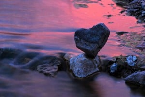 Heart-shaped rocks are focus of Gilbert photographer's exhibition