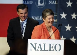 Janet Napolitano, Juan Zapata