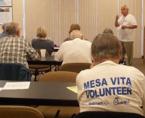 VITA volunteers