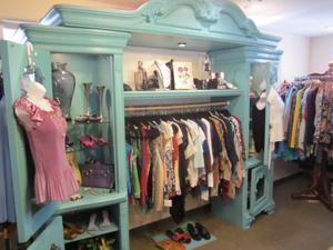 fashion + clothing section