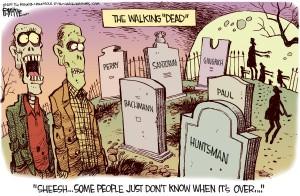 Cartoon: Walking dead