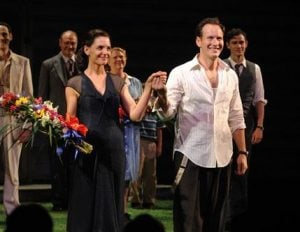 Katie Holmes and `All My Sons' debuts on Broadway