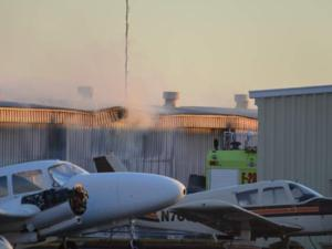 Fire damages planes at Falcon Field