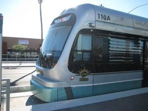 Party on the line: Light-rail celebrations