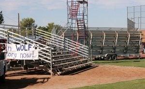 Chandler bleachers