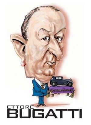 Automotive Legends and Heroes: Ettore Bugatti